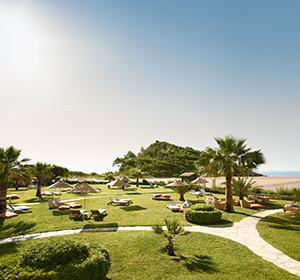 Clubanlage Liegen-Bereich ROBINSON CLUB SARIGERME PARK, Türkei