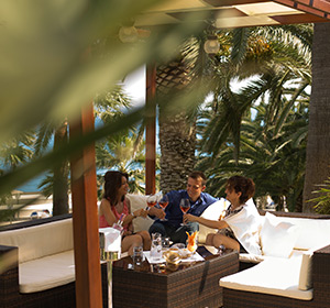 Kulinarisches Terrasse Chill-Out ROBINSON CLUB SARIGERME PARK, Türkei