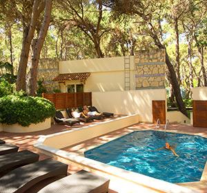 Clubanlage WellFit Pool ROBINSON CLUB PAMFILYA, Türkei