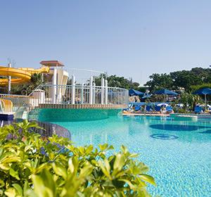 Clubanlage Pool-Landschaft ROBINSON CLUB PAMFILYA, Türkei