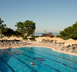 Clubanlage Pool-Bahnen ROBINSON CLUB PAMFILYA, Türkei