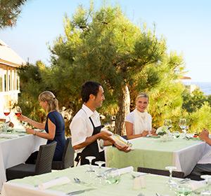 Kulinarisches Terrasse ROBINSON CLUB PAMFILYA, Türkei