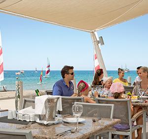 Kulinarisches Strandrestaurant ROBINSON CLUB PAMFILYA, Türkei