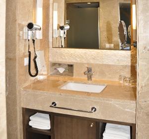Zimmer Familienzimmer Badezimmer Typ1 (FZX1) ROBINSON CLUB PAMFILYA, Türkei